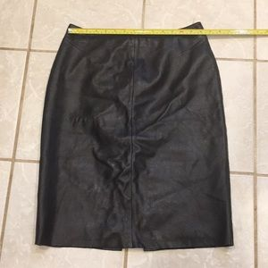 Very soft leather skirt size 10